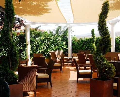 Terraza jard n chill out damilia restaurantes - Jardines chill out ...